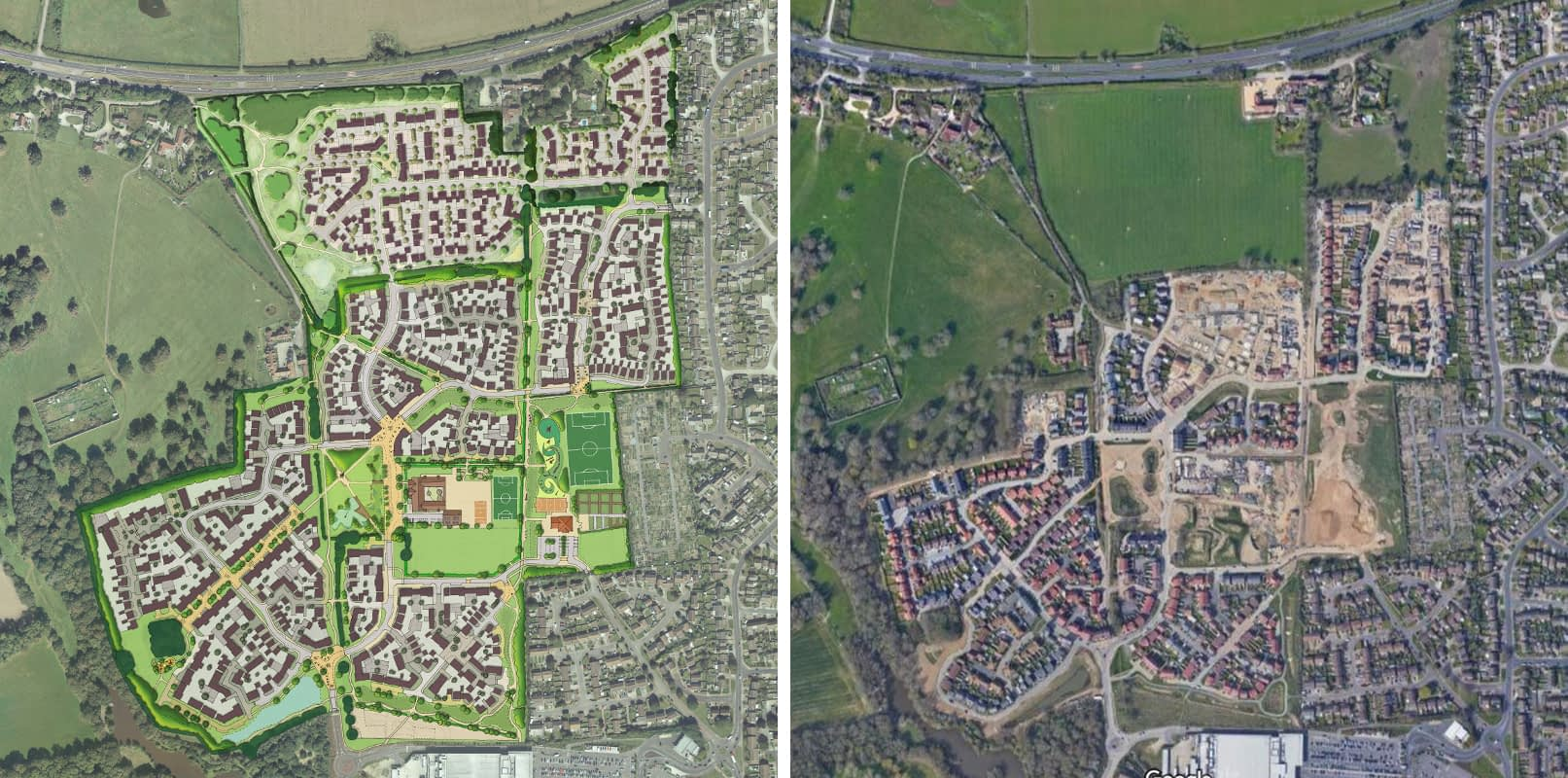 West Durrington masterplan